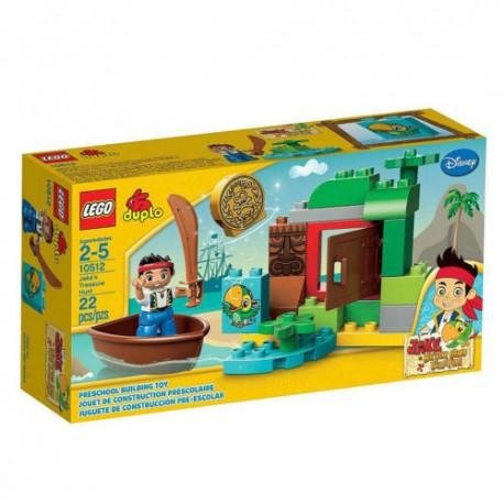 lego duplo 10512 jakes treasure hunt set building toy figure set new in box