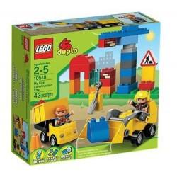 レゴデュプロ10518私の最初の建設現場は、ボックスに新しい設定しました