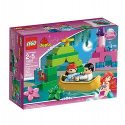 lego duplo 10516 disney princess ariels magical boat ride building toy figure