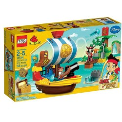 lego duplo 10514 jakes pirate ship bucky set building toy figure set new in box