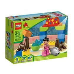 lego Duplo 10.503 cirkus predstava postavljena zgrada igračka lik novo u kutiji zapečaćene