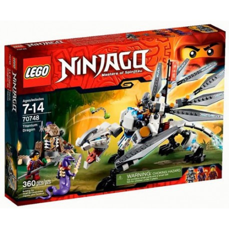 lego ninjago 70748 titanium dragon toy set