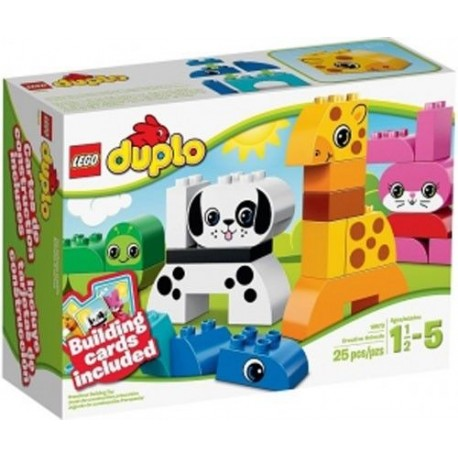 lego duplo 10573 creative animals new in box 10573