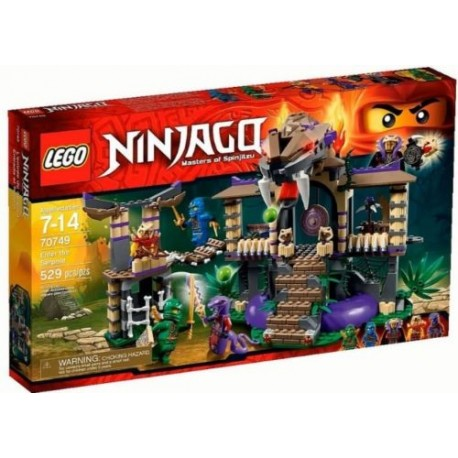 lego ninjago 70749 enter the serpent