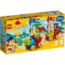 LEGO Duplo 10539 Jake i piraci z Nibylandii plaży raicing nowy w pudełku 10539