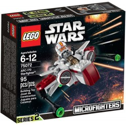 LEGO Star Wars 75072 ARC-170 Starfighter set novo u Box Sealed