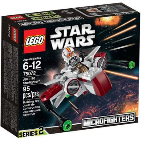 LEGO Star Wars 75072 ARC-170 Starfighter Set New In Box Sealed