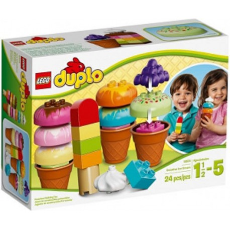 lego duplo 10574 creative ice cream set new in box 10574