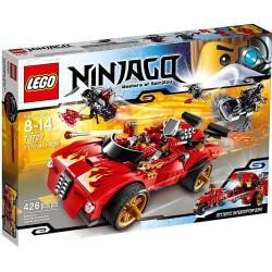 lego Ninjago cargador 70727 X-1 del ninja