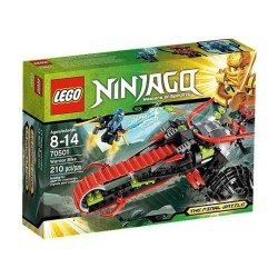 lego ninjago 70501 karavīru velosipēdu gala kaujas