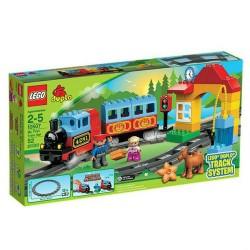 Lego Duplo 10507 moja prvá vlakovú súpravu budova hračka postava nastaviť nový v kolónke