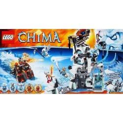 lego legendat chima 70147 sir fangars jään linnoitus uutta kohtaan 70147