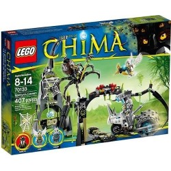 lego legends of chima 70133 spinlyns cavern set new in box