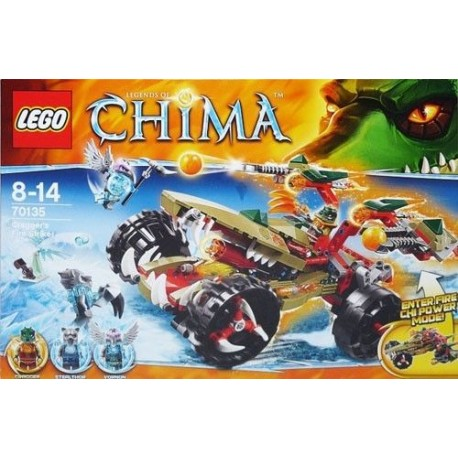 lego legends of chima 70135 craggers fire striker new in box 70135