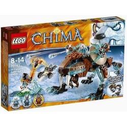 Лего легенди на Chima 70143 сър fangars сабя зъб проходилка нов в кутия 70143