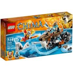 Legendele lego ale Chima 70220 strainors ciclu sabie noi în caseta 70220