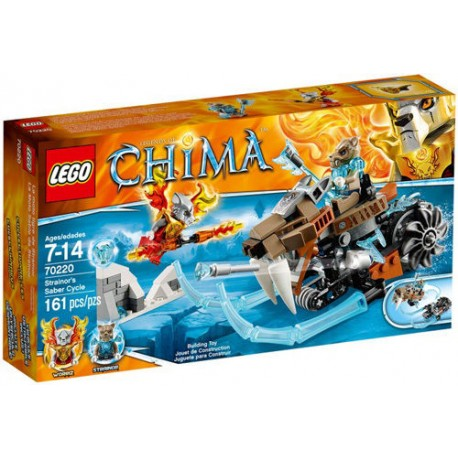 lego legends of chima 70220 strainors saber cycle new in box 70220