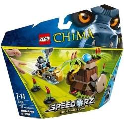 Lego Legends Of Chima 70.136 Bananen bash in Feld setzen neue