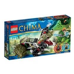 チマ70001 crawleys爪リッパーのレゴ伝説がボックスに新しい設定します