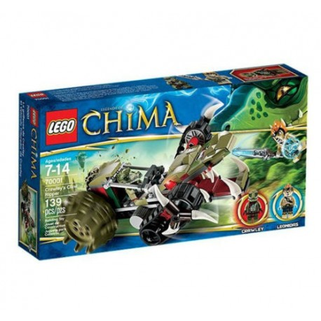 lego legends of chima 70001 crawleys claw ripper set new in box