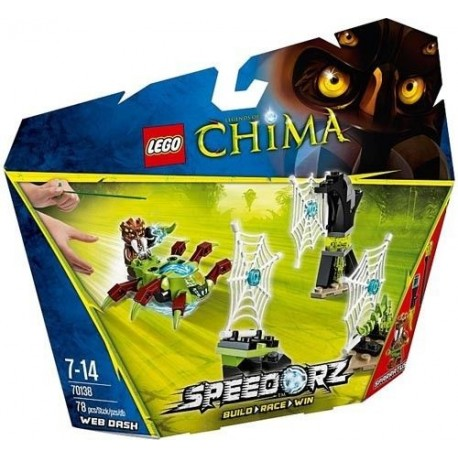 lego legends of chima 70138 web dash new in box