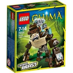 Lego Chima 70125 gorila legenda šelma nastavit nový v kolonce