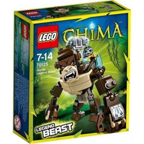 lego legends of chima 70125 gorilla legend beast set new in box