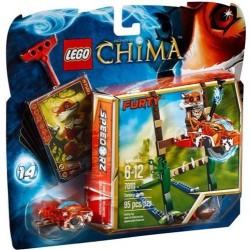 Лего легенди на Chima 70111 блато скок поставят нови в кутия