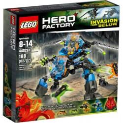 fábrica del héroe lego 44028 oleada y combatir Rocka máquina