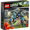 lego hero factory 44028 surge and rocka combat machine