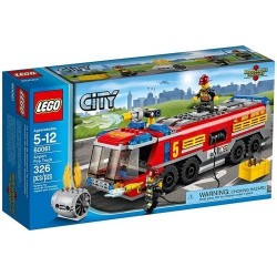 lego city 60061 great vehicles airport fire truck set