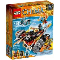 lego legender av Chima 70222 tormaks skygge blazer nye i boks 70222