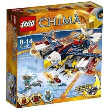 lego legends of chima 70142 eris fire eagle flyer new in box 70142