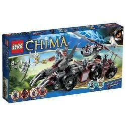 lego legendat chima 70009 worriz torjumiseksi pesään asetettu kohtaan
