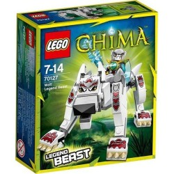 LEGO Legends of Chima 70.127 ulv legende bæst sat nye i rubrik