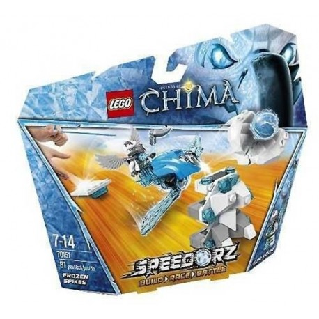 lego legends of chima 70151 frozen spikes new in box 70151