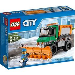 LEGO City 60083 byen flotte biler snøplogen lastebil