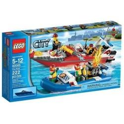 Lego Город Пожарный катер 60005