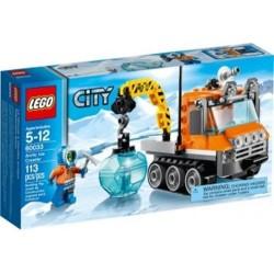 LEGO City 60033 Arctic Ice Raupen Gebäude