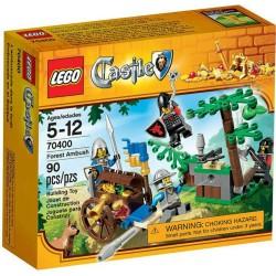 Castelul Lego ambuscadă 70400 pădure