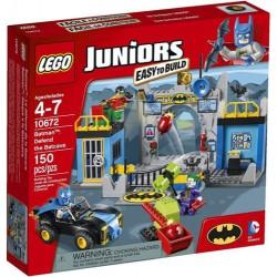 lego juniorer 10672 batman forsvare batcave