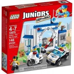 LEGO junioriem 10675 policijas liels sscape