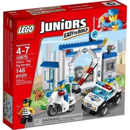 lego juniors 10675 police the big sscape