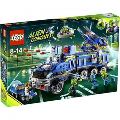 Lego Alien Conquest 7066 Earth Defense HQ Mint in Sealed Box