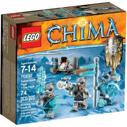 lego legendat chima 70232 sapeli hammas tiikeri heimon pakata uutta kohtaan 70232