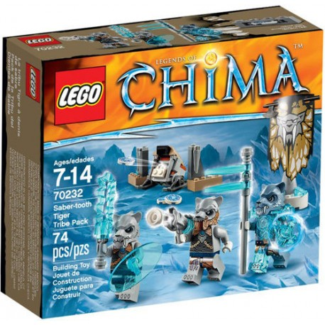 lego legends of chima 70232 saber tooth tiger tribe pack new in box 70232