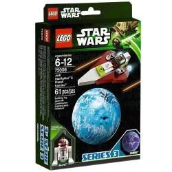 lego star wars 75006 jedi starfigher & kamino planet