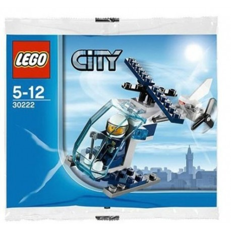 lego city 30222 police helicopter polybag
