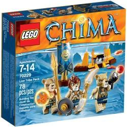 Лего легенди на Chima 70229 лъв племе пакет нови в кутия 70229