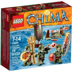 legende lego de Chima 70231 crocodil trib nou ambalaj în cutie 70231